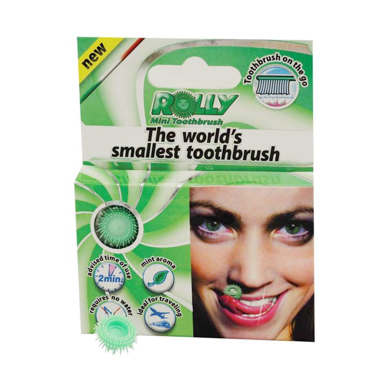 世界最小の歯ブラシRollyBrush