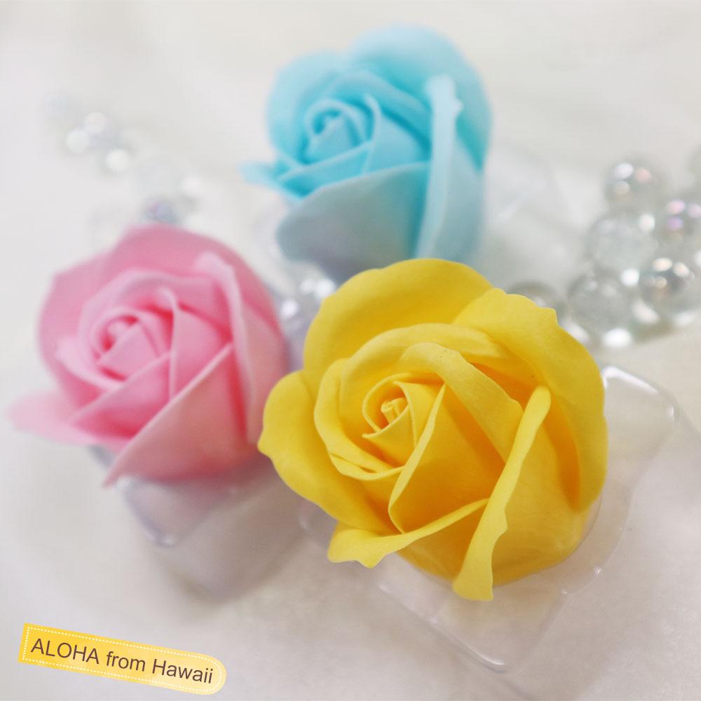 ハワイの花びらソープ アロハローズ