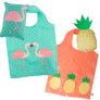 ハワイで大人気!エコショッピング【フラミンゴ&パイナップル】